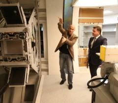 Аркадий Столпнер, установка для протонной терапии. Credit: Александр Щемляев, пресс-служба Губернатора Московской области