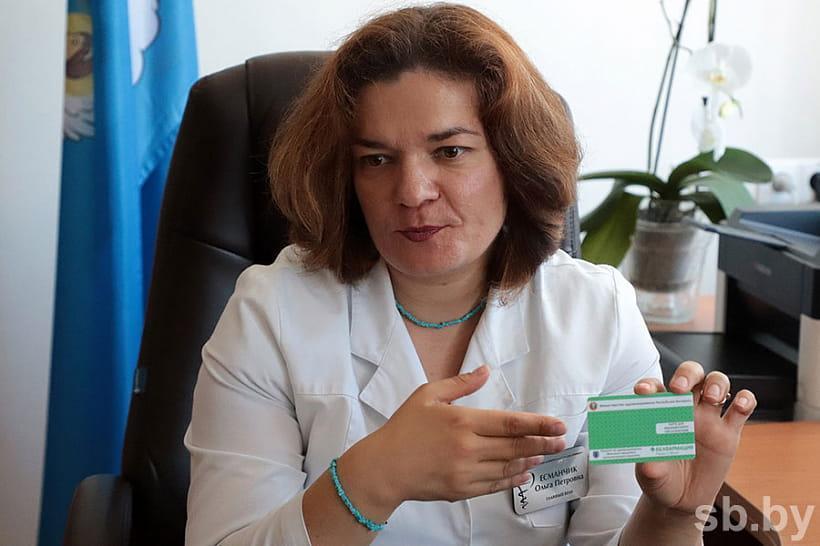 Главный врач УЗ «39-я городская клиническая поликлиника» г. Минска Ольга ЕСМАНЧИК.