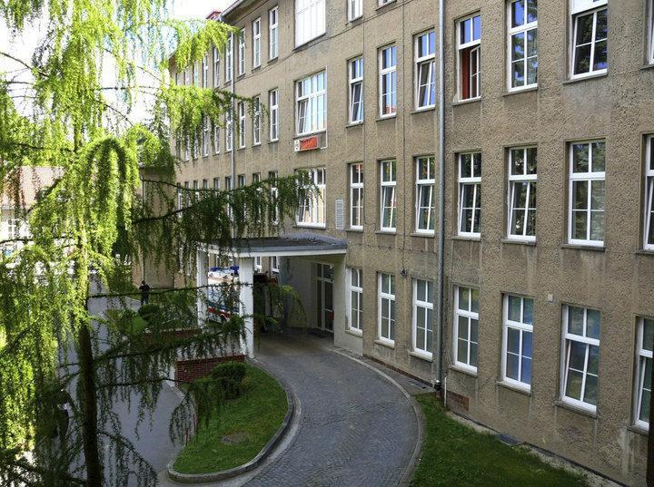 Клиника, где работает Елена Шахович. Фото: официальный сайт городской больницы св. Иоанна Павла II в Эльблонге
