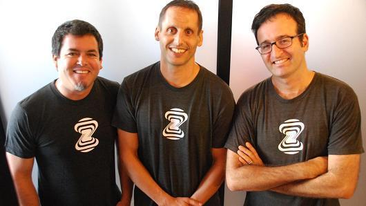 Zebra Medical Vision Zebra Medical Vision's founding team including Eyal Gura (right).