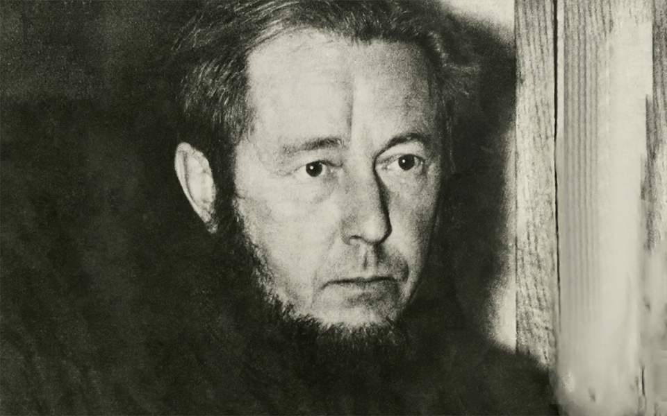 Александр Исаевич Солженицын (1918-2008). Фото 1970 года.