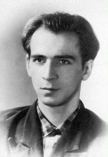 Леонид Иванович Плющ (1938-2015) в конце 1960-х годов, до насильственной госпитализации.