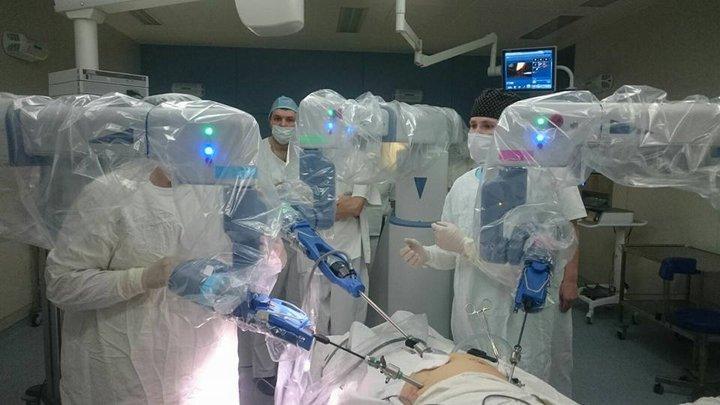 Фото со страницы в Facebook отделения хирургии Республиканского клинического медицинского центра Управления делами президента