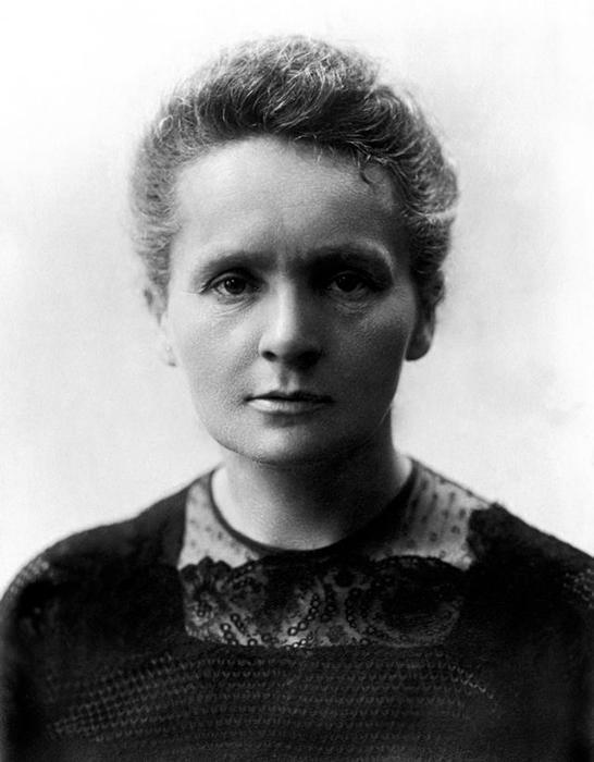 Портрет Марии Кюри.