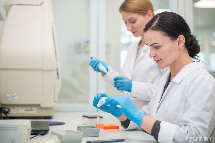 В новой лаборатории генетических биотехнологий в РНПЦ детской онкологии, гематологии и иммунологии