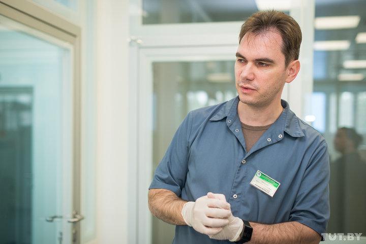 Заведующий лабораторией генетических биотехнологий РНПЦ детской онкологии, гематологии и иммунологии Александр Мелешко