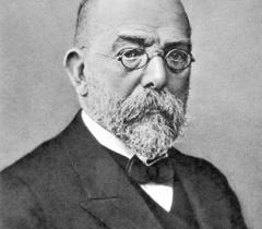 Генрих Герман Роберт Кох. Родился 11 декабря 1843 г. в Клаусталь-Целлерфельде, Пруссия. Умер 27 мая 1910 г. в Баден-Бадене, Германская империя. Лауреат Нобелевской премии по физиологии или медицине 1905 года.