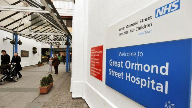 Детская больница на Грейт-Ормонд-стрит - одна из самых старых в Лондоне