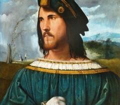 «Портрет дворянина» работы Альтобелло Мелоне, 1500 - 1524 годы. Предполагаемый портрет Чезаре Борджиа