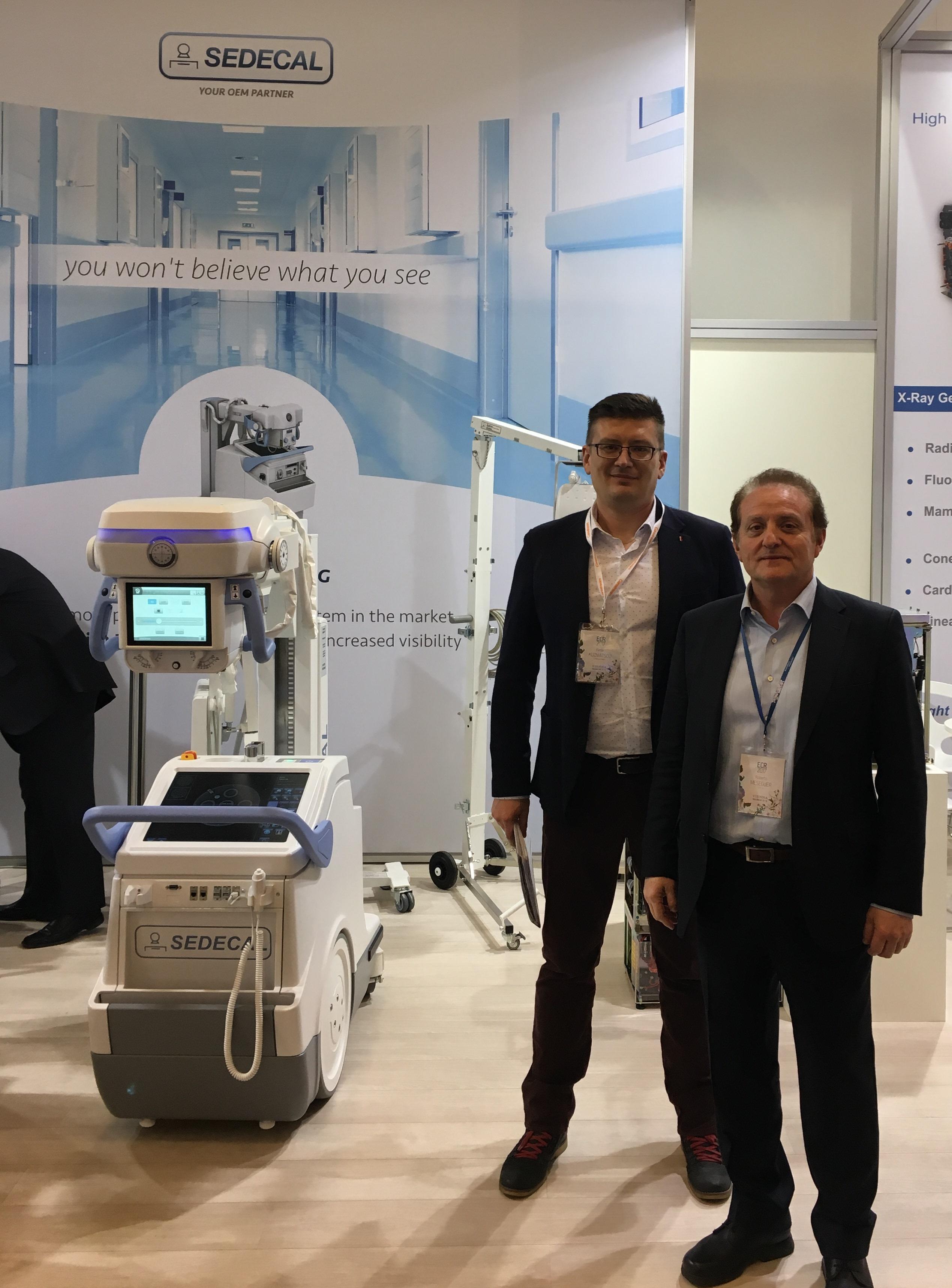 Прекрасные рентгеновские генераторы испанской компании Sedecal давно используются в Беларуси