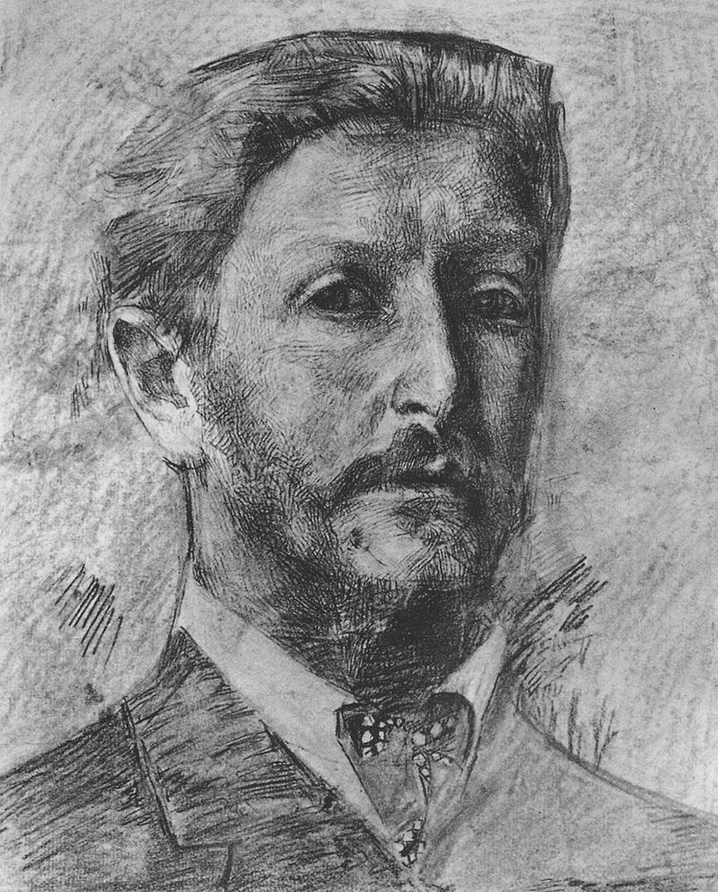 Михаил Врубель. Автопортрет. 1904
