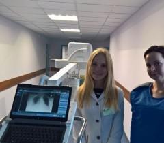 Монтаж 2-х цифровых Спутников 4 больница Минск