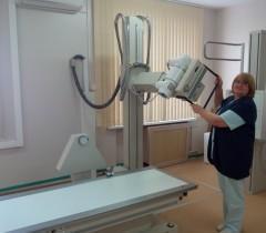 Монтаж Космоса в 9 больнице Минск