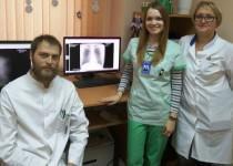 Монтаж медстанции в Жлобине