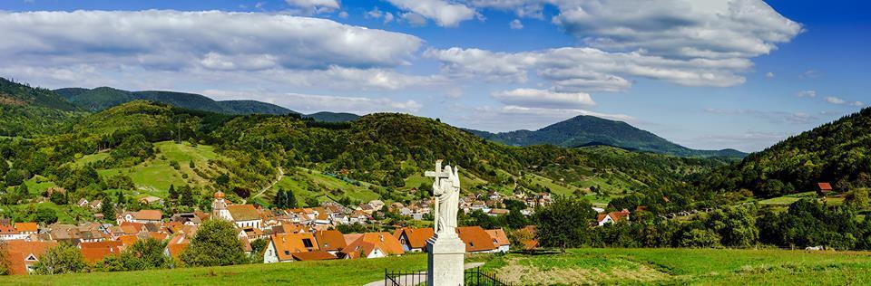 Место происшествия с Жозефом Мейстером – деревня Мезонгутт (Maisonsgoutte) в Эльзасе, ныне французский департамент Нижний Рейн. Пока Эльзас в 1871-1918 годах был частью Германской империи, носила название Майсенготт (Meissengott). Фото: Shutterstock/FOTODOM/bonzodog