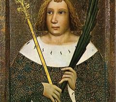 """Святой Витт"". Мастер Теодорих. 14 век."