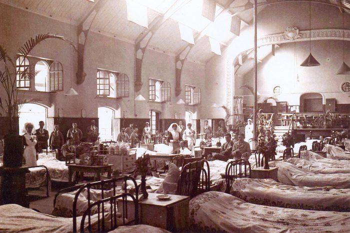 Английский военный госпиталь в Чиппенхеме