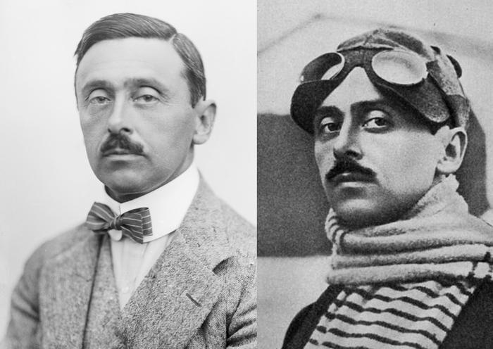 Константин фон Экономо, летчик и врач