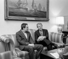 Беседа Владимира Буковского с президентом США Джимми Картером, 1 марта 1977 года.