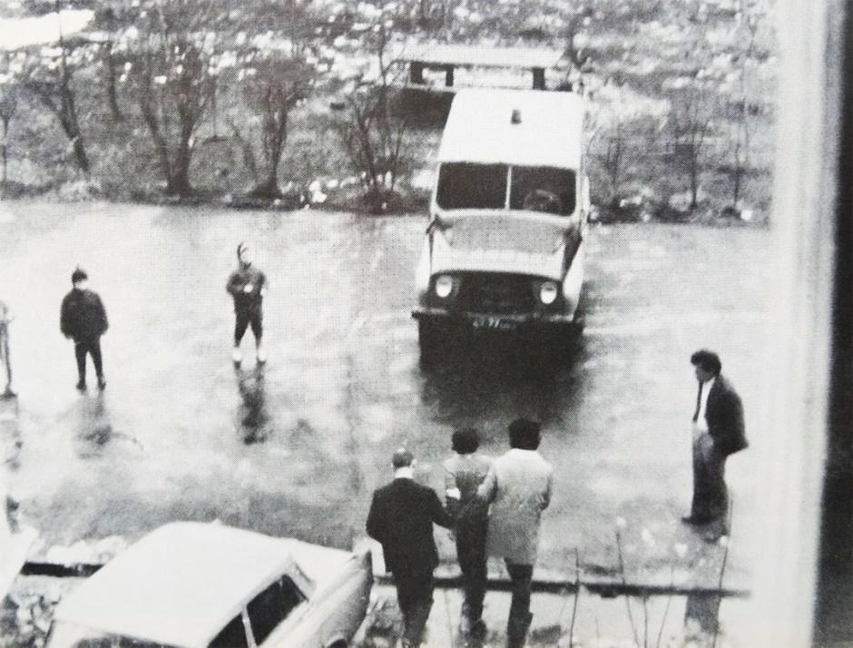 Арест члена Рабочей комиссии Александра Подрабинека 3 апреля 1977 года, в ходе расследования насильственной госпитализации баптистов в психиатрическую больницу №14. Москва, Печатники, Шоссейная улица.